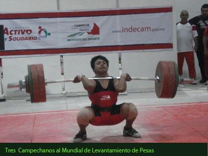 federacion de levantamiento de pesas: